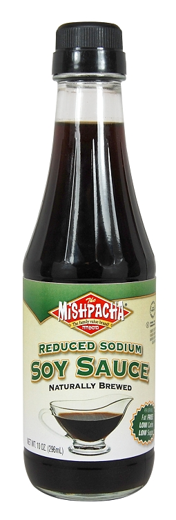 Mishpacha reduced sodium soy sauce 10 oz case of 12 for Low sodium fish sauce