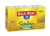 Gold Boat Sardines in Salted Water - Club Pack