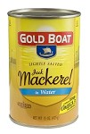 Gold Boat Jack Mackerel in Salted Water - Tall Can