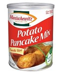 Manischewitz Family Size Potato Pancake Mix Canister - Case of 12