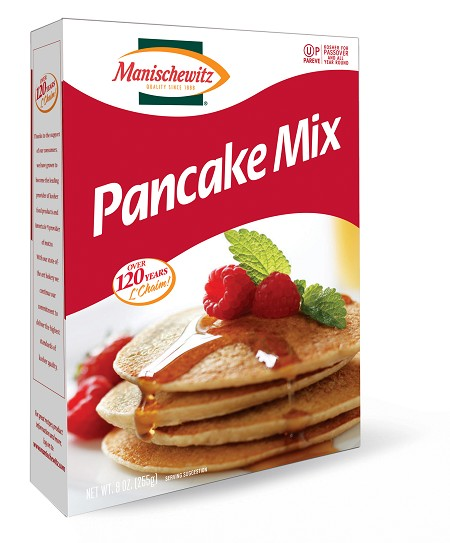 Manischewitz Pancake Mix, 9 oz. (Case of 12)