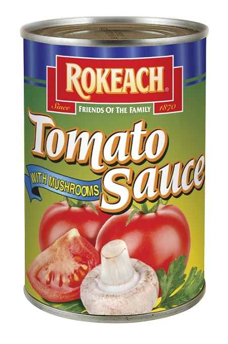 Rokeach Tomato Sauce With Mushrooms, 10.5 oz. (Case of 24)