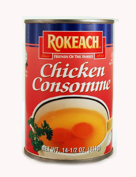Rokeach Chicken Consomme, 14.5 oz. - Babad (Case of 12)