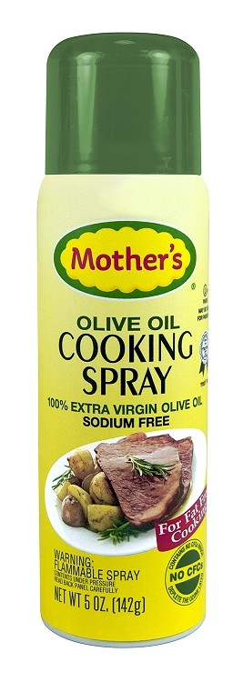 Mother's Extra Virgin Olive Oil Cooking Spray, 5 oz. (Case of 12)