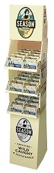 Season Club Skinless & Boneless Sardines In Oil Display Shipper - Morocco (Case of 72)