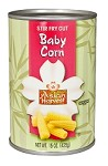 Season Asian Harvest Stir Fry Cut Baby Corn, 15 oz. (Case of 12)