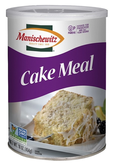 Manischewitz Cake Meal Canister, 16 oz. (Case of 12)