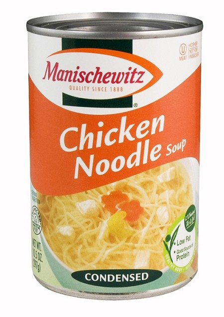 Manischewitz Chicken Noodle Soup, 10.5 oz. (Case of 12)