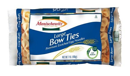 Manischewitz Large Bow Ties, 7 oz. (Case of 12)