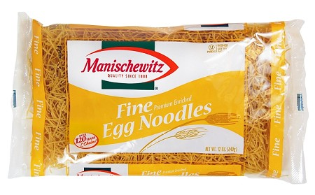 Manischewitz Fine Egg Noodles, 12 oz. (Case of 12)
