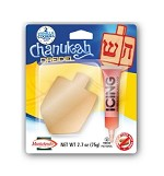 2 Chanukah Cookie's with Decorating Icing, Dreidel