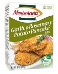 Manischewitz Roasted Garlic & Rosemary Potato Pancake Mix - Case of 12