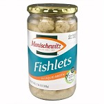 Manischewitz Gefilte Fishlets in Liquid Broth, 24 oz. (Case of 12)