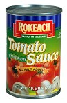 Rokeach Tomato Sauce With  Mushrooms Low Sodium - Case of 24