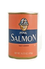 Season Salt Added Pink Salmon, 14.75 oz. (Case of 12)