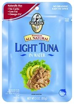 Season All Natural Lite Tuna - Pouch