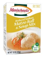 Manischewitz Reduced Sodium Matzo Ball & Soup Mix