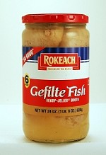 Rokeach Gefilte Fish in Jelled Broth, 24 oz. (Case of 12)