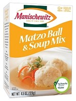 Manischewitz Matzo Ball & Soup Mix, 4.5 oz. (Case of 24)