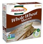 Manischewitz Passover Whole Wheat Matzo, 10 oz. (Case of 24)