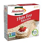 Manischewitz Thin Tea Matzo, 10 oz. (Case of 12)
