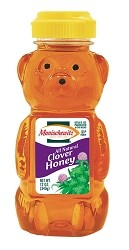 Manischewitz Clover Honey Squeeze Bear, 12 oz. (Case of 12)