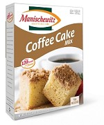 Manischewitz Coffee Cake Mix, 12 oz. (Case of 12)