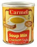 Carmel Chicken Style Soup Mix, 1 LB (Case of 12)