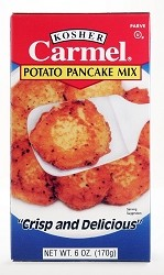 Carmel Potato Pancake Mix, 6 oz. (Case of 12)