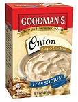 Goodman's Low Sodium Onion Soup & Dip Mix, 2.75 oz. - Babad
