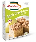 Manischewitz Apple Crumb Cake Mix, 12 oz. (Case of 12)
