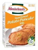 Manischewitz Sweetened Potato Pancake Mix, 6 oz. (Case of 12)