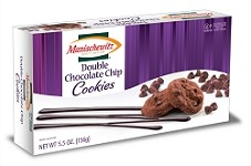 Manischewitz Double Chocolate Chip Cookies, 5.5 oz. (Case of 12)