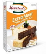 Manischewitz Extra Moist Yellow Cake Mix, 14 oz.