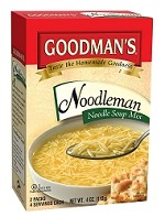 Goodman's Noodleman Noodle Soup Mix, 4 oz. (Case of 24)