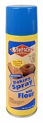Mishpacha All Natural Baking Spray with Flour, 5 oz. (Case of 12)