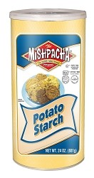 Mishpacha Potato Starch Canister, 24 oz. (Case of 12)