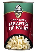 Season Tips & Cuts Hearts Of Palm, 14 oz. Can (Case of 12)
