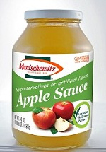 Manischewitz Applesauce, 24 oz. (Case of 12)