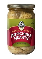 Season Marinated Artichoke Hearts, 12 oz. (Case of 12)