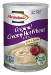 Manischewitz Hot Wheat Cereal Canister, 12 oz. (Case of 12)