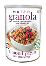 Manischewitz Almond Pecan Granola, 10 oz. (Case of 12)