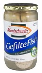 Manischewitz Gefilte Fish in Jelled Broth, 24 oz. (Case of 12)