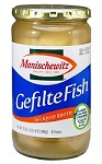 Manischewitz Gefilte Fish in Liquid Broth, 24 oz. (Case of 12)