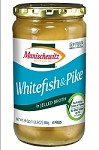 Manischewitz Whitefish & Pike in Jelled Broth, 24 oz. (Case of 12)