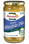 Manischewitz Sweet Whitefish & Pike in Jelled Broth, 24 oz. (Case of 12)
