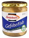 Manischewitz Gefilte Fish in Jelled Broth, 14.5 oz. (Case of 12)