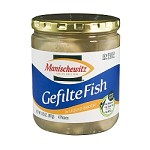 Manischewitz Gefilte Fish in Liquid Broth, 14.5 oz. (Case of 12)