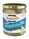 Manischewitz Whitefish & Pike in Jelled Broth, 14.5 oz. (Case of 12)