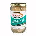 Manischewitz All Whitefish in Jelled Broth, 24 oz. (Case of 12)